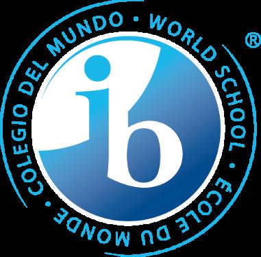 Imagen futurista del mundo con el logotipo del Bachillerato Internacional® (IB)